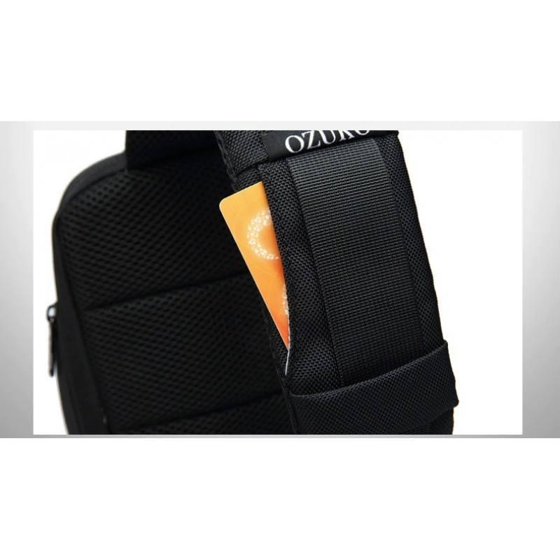 Малка Раница/Чанта с една презрамка Ozuko USB удължител Анти-кражба