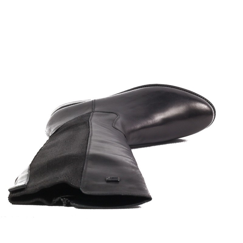 Дамски ежедневни ботуши Remonte R6372-01 естествена кожа черни