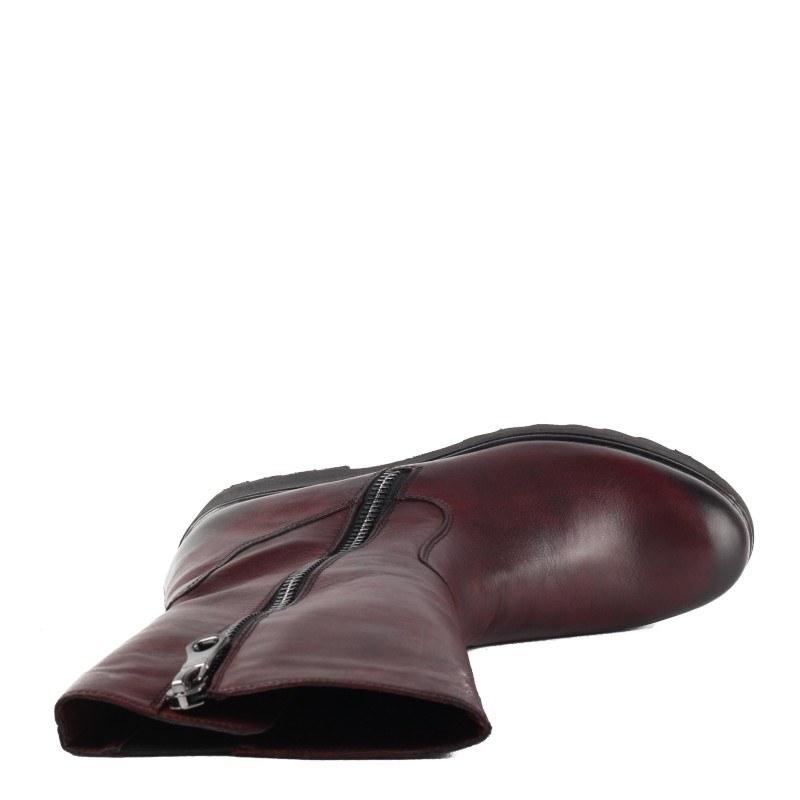 Дамски ежедневни ботуши Remonte 9781-35 естествена кожа бордо