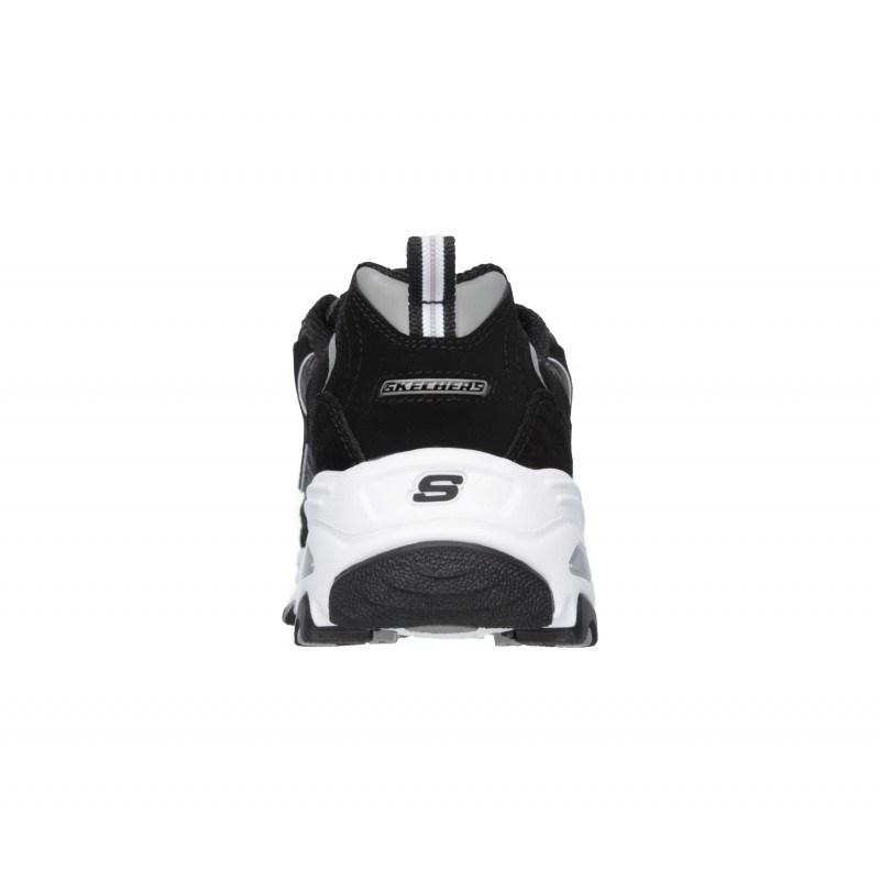 Спортни обувки Skechers мемори пяна естествена кожа черни