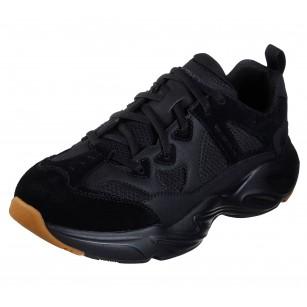 Мъжки спортни обувки Skechers мемори пяна Air Cooled черни