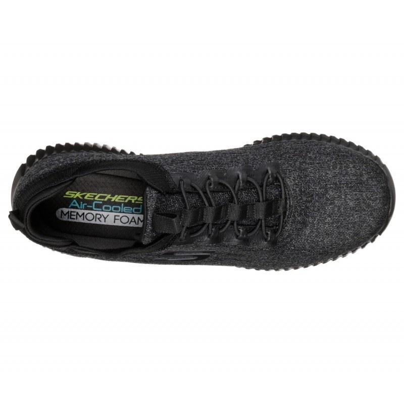 Мъжки спортни обувки Skechers тип чорап сиви