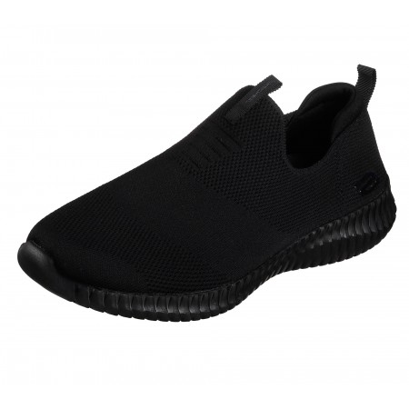 Мъжки спортни обувки без връзки Skechers тип чорап сиви