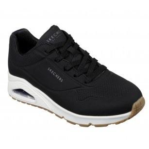 Спортни обувки на платформа Skechers мемори пяна черни