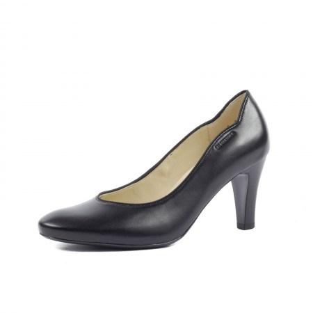 Дамски елегантни обувки от естествена кожа Salamander черни
