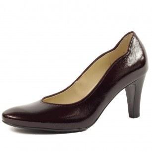 Дамски елегантни обувки от естествена кожа Salamander лак