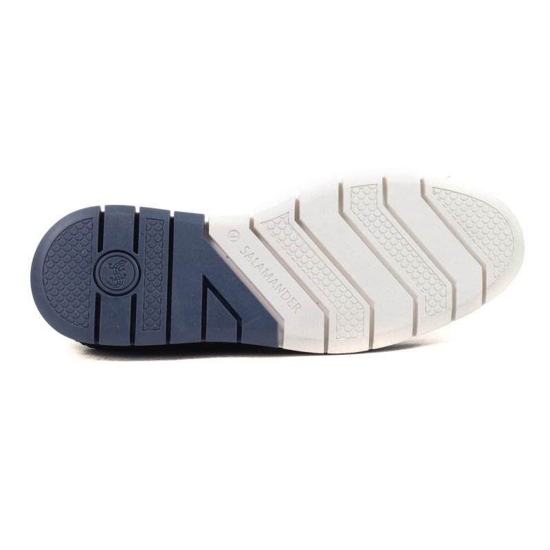 Мъжки обувки Salamander естествена кожа сини