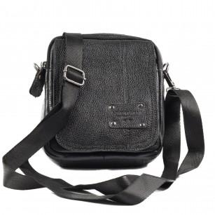 Мъжка чанта през рамо от естествена кожа Soho Mayfair