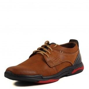 Мъжки ежедневни обувки Soho Mayfair естествена кожа кафяви