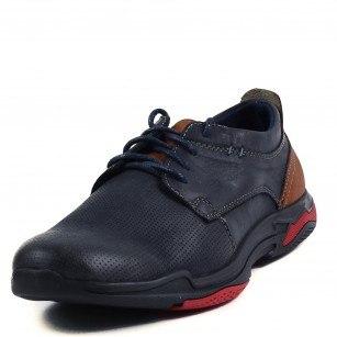 Мъжки ежедневни обувки Soho Mayfair естествена кожа сини