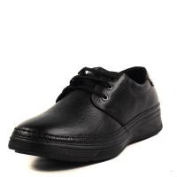 Мъжки ежедневни обувки с връзки Soho Mayfair естествена кожа черни