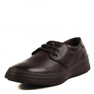 Мъжки ежедневни обувки с връзки Soho Mayfair естествена кожа кафяви