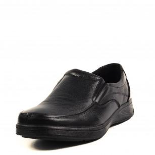 Мъжки ежедневни обувки от естествена кожа Soho Mayfair черни