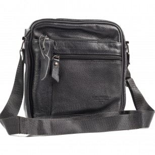 Мъжка чанта през тяло от естествена кожа Soho Mayfair
