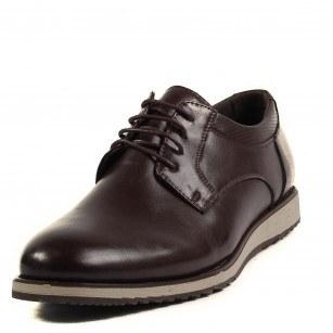 Мъжки обувки с връзки Soho Mayfair кафяви