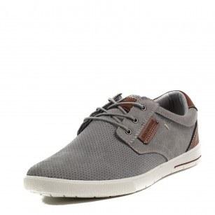 Мъжки обувки с връзки Soho Mayfair сиви
