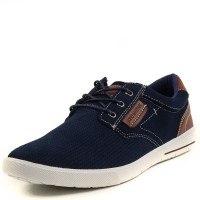 Мъжки спортни обувки с връзки Soho Mayfair сини