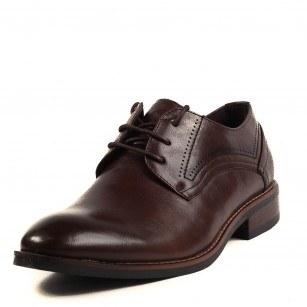 Мъжки официални обувки с връзки Soho Mayfair кафяви