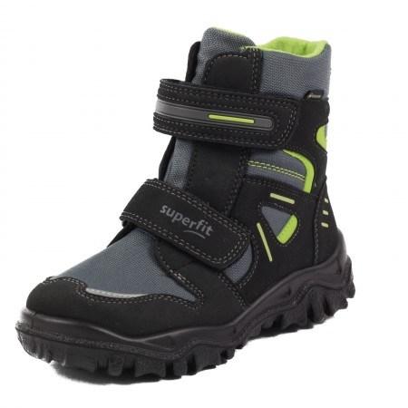Апрески Superfit черни/зелени GORE-TEX® непромокаеми 31-35