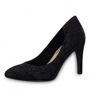 Дамски елегантни обувки на висок ток Tamaris мемори пяна  Marcel —x— Ostertag черни