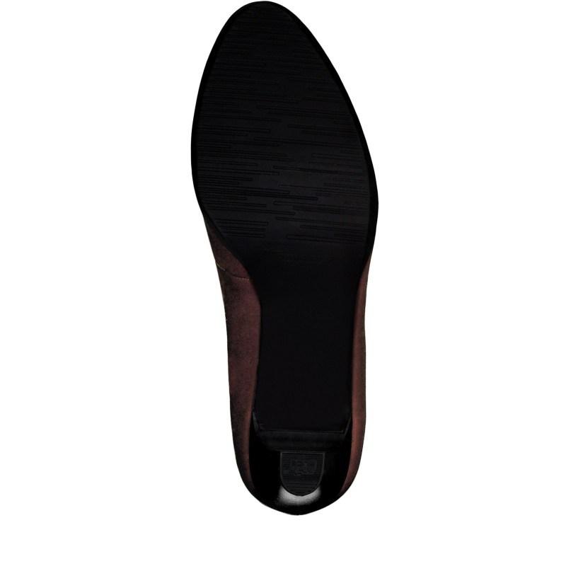 Дамски елегантни обувки на висок ток Tamaris мемори пяна ANTISHOKK, ANTISLIDE