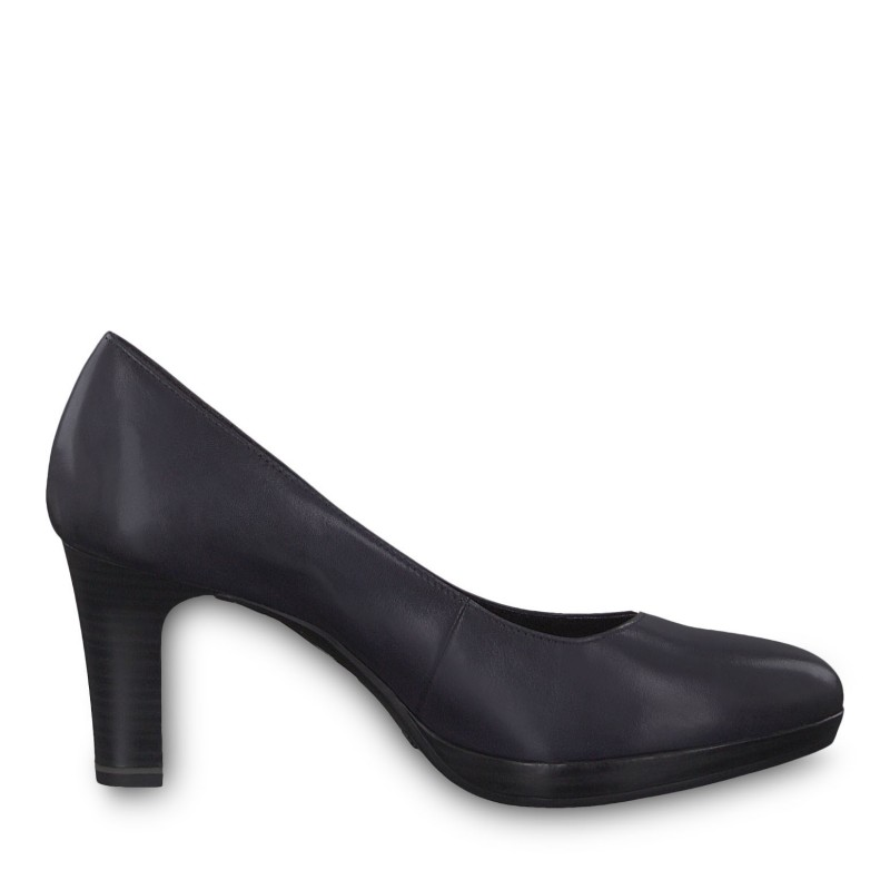 Дамски елегантни обувки на висок ток Tamaris мемори пяна ANTISHOKK, ANTISLIDE сини
