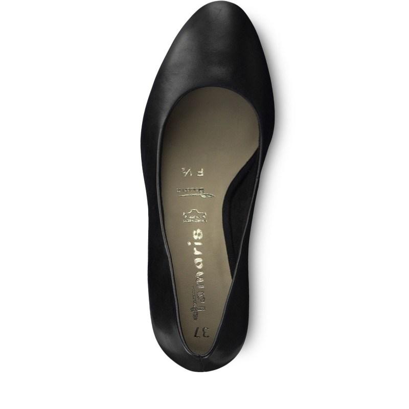 Дамски обувки на нисък ток Tamaris естествена кожа ANTISHOKK мемори пяна F