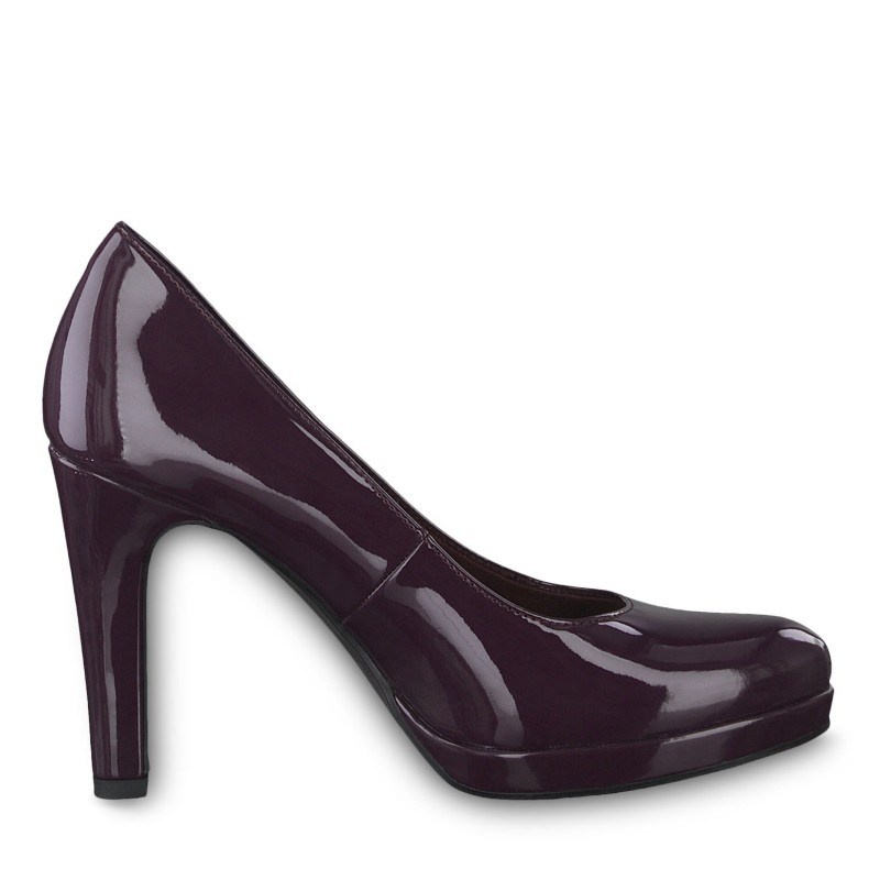 Дамски обувки на висок ток Tamaris мемори пяна лилави