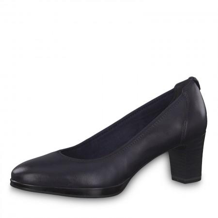 Дамски обувки на нисък ток Tamaris естествена кожа ANTISHOKK мемори пяна F1/2