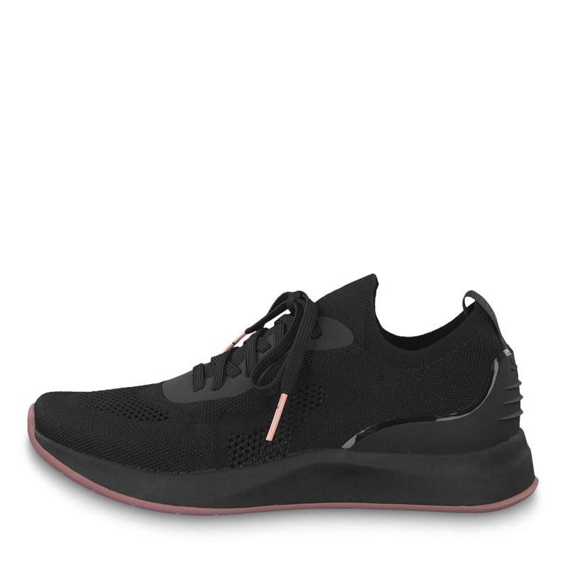 Дамски спортни обувки Tamaris Fashletics с връзки черни