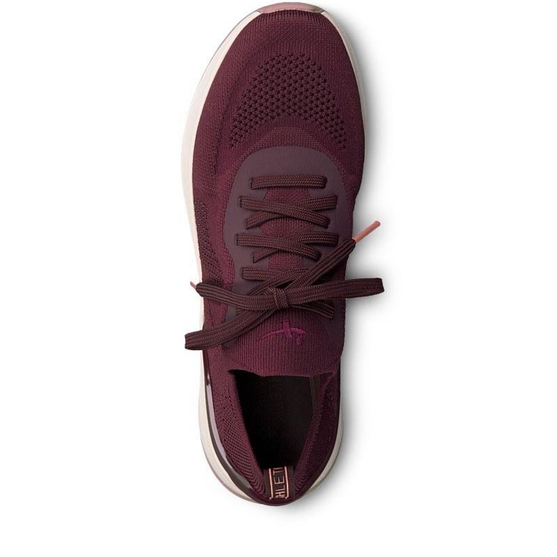 Дамски спортни обувки Tamaris Fashletics с връзки бордо