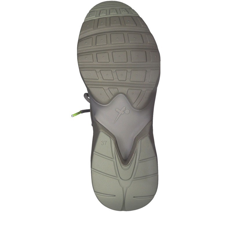 Дамски спортни обувки Tamaris Fashletics с връзки сиви