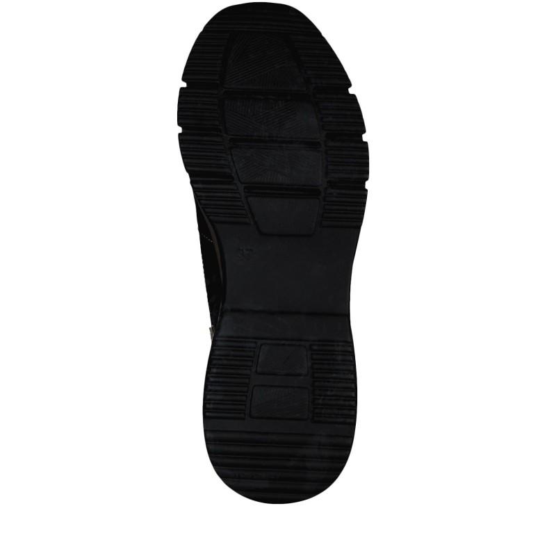 Дамски спортни обувки на платформа Tamaris жълти