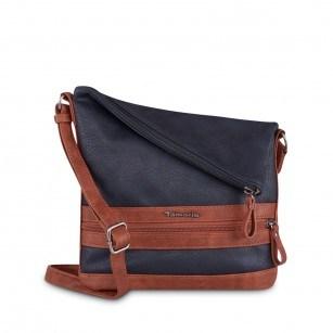 Дамска средна чанта Tamaris тъмно синя