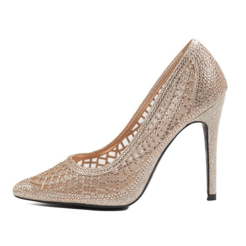 Дамски елегантни обувки Yoncy® бежови