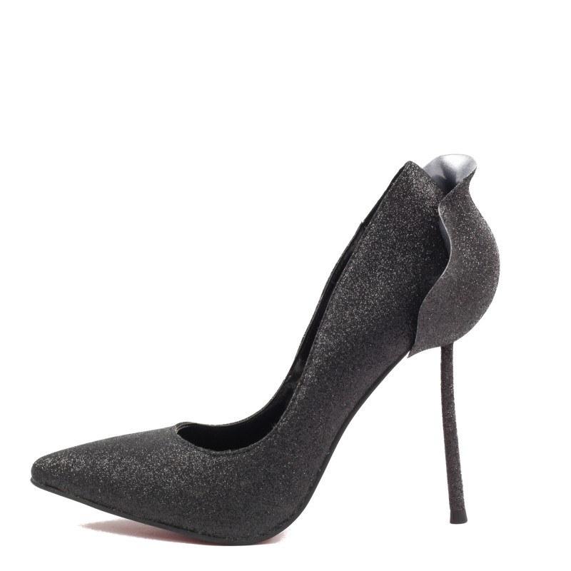Дамски елегантни обувки Yoncy® черни