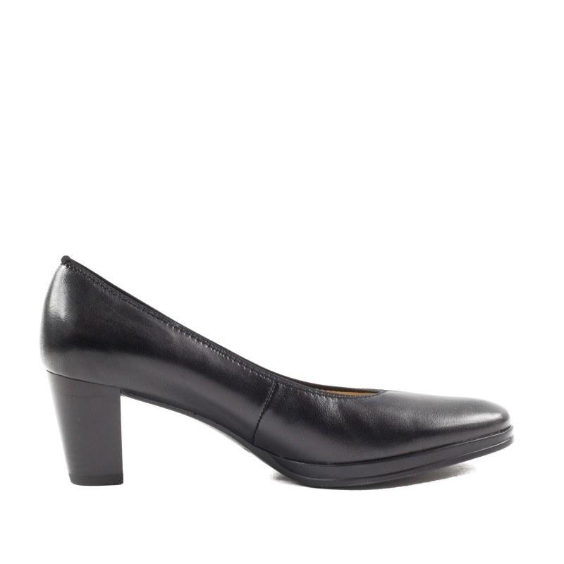 Дамски обувки на ток Ara естествена кожа черни