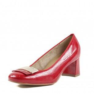 Дамски обувки на ток Ara червени
