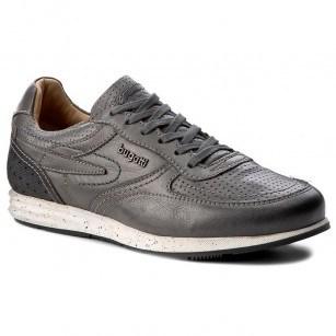 Мъжки ежедневни обувки с връзки Bugatti® естествена кожа черни