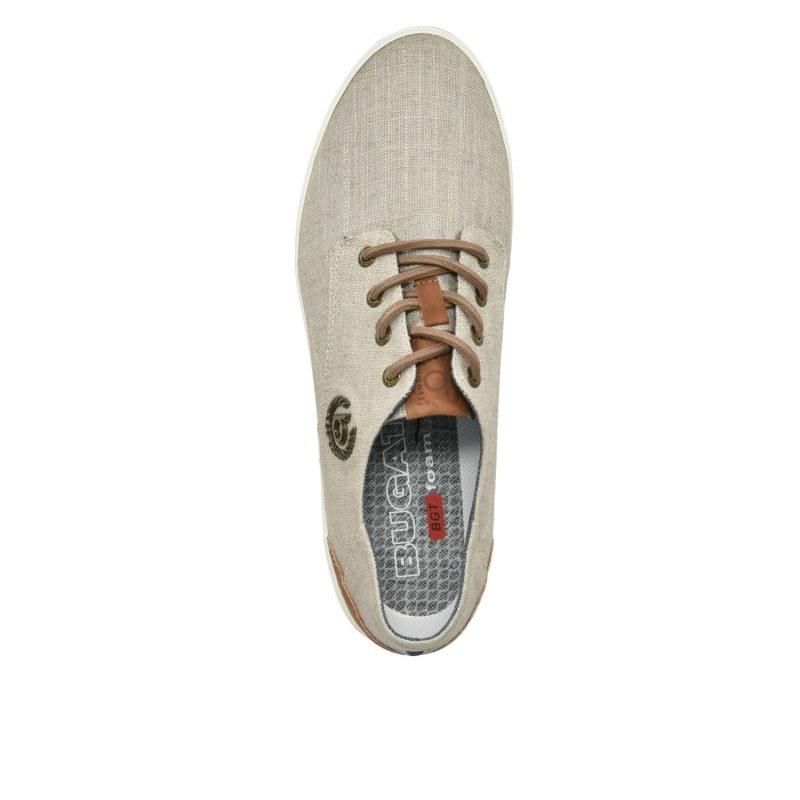 Мъжки спортни обувки с връзки Bugatti® ALFA светло сиви
