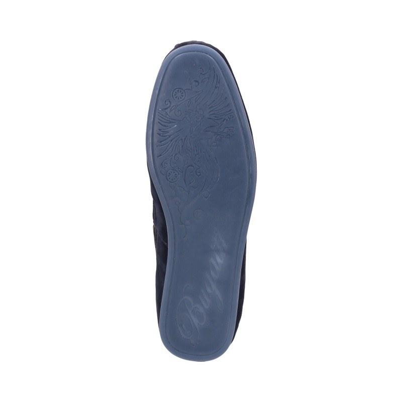 Мъжки мокасини от естествена кожа Bugatti® Melchiore сини