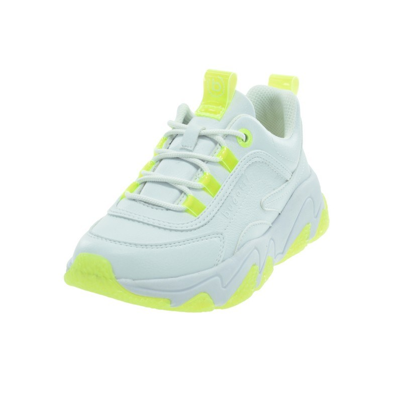Дамски спортни обувки Bugatti® Ceyda бели/жълти