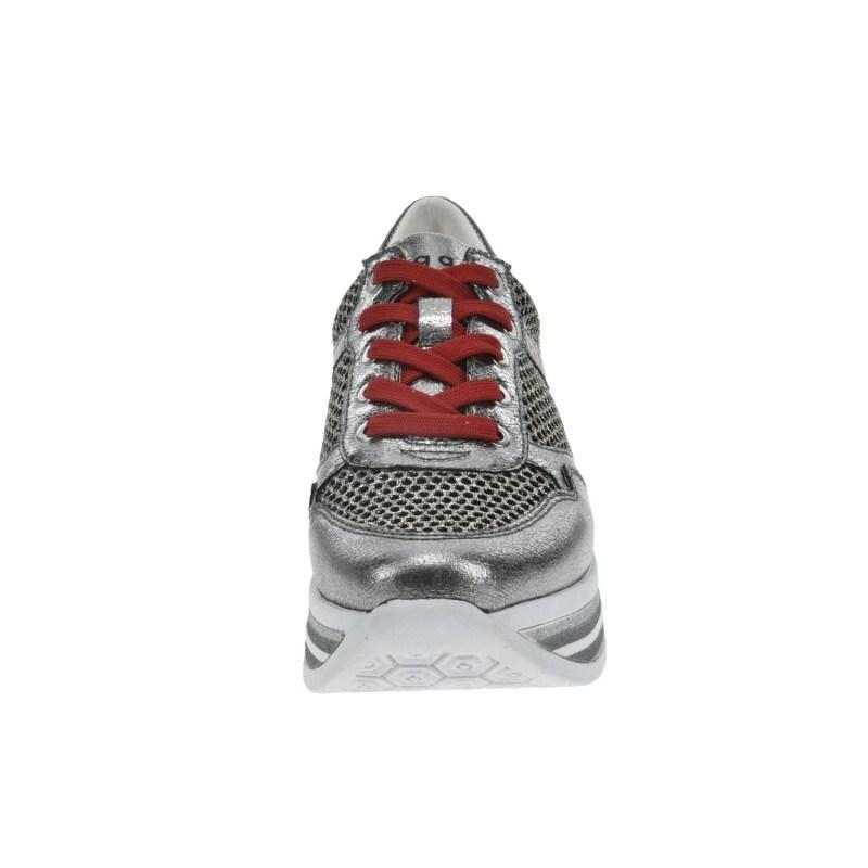 Дамски спортни обувки Bugatti® Lian сиви/металик