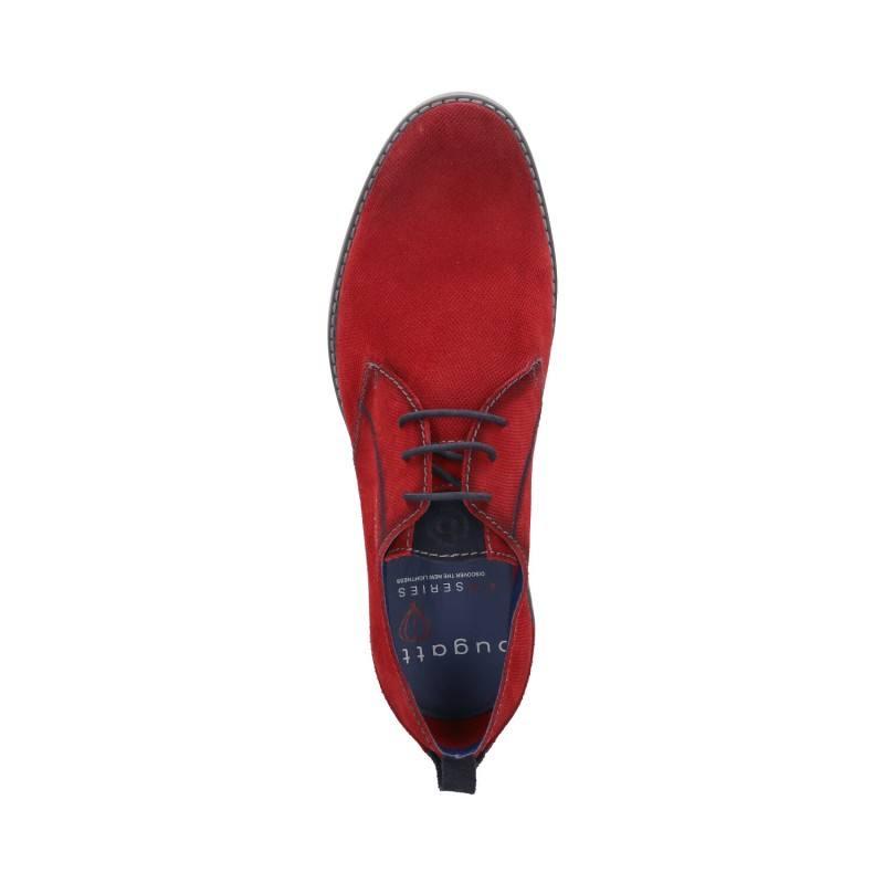 Мъжки ежедневни обувки с връзки Bugatti® Basso червени