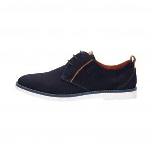 Мъжки ежедневни обувки с връзки Bugatti® Basso сини