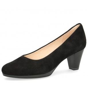 Дамски елегантни обувки на ток Caprice черни