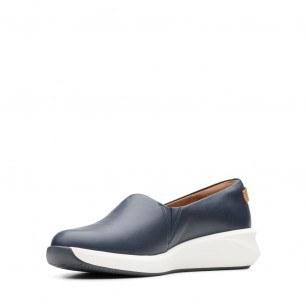 Дамски обувки Clarks Un Rio Step естествена кожа тъмно сини