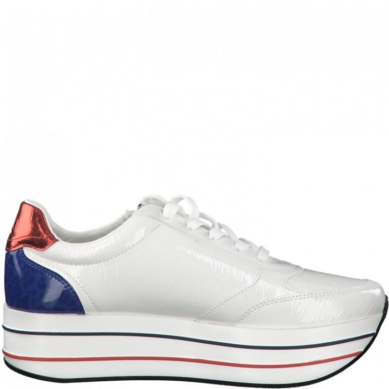 Дамски спортни обувки S.Oliver мемори пяна бели