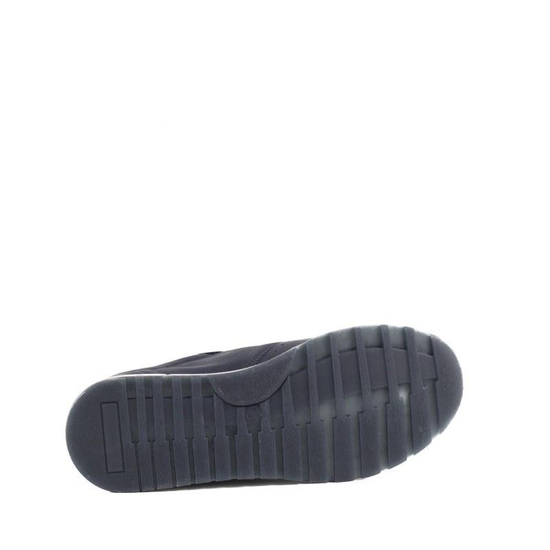 Дамски спортни обувки от естествена кожа Salamander тъмно сини