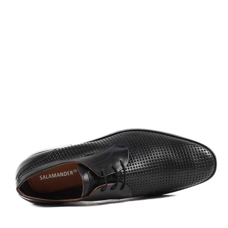 Мъжки елегантни обувки от естественa кожа Salamander черни